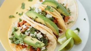 Latino Village Al Pastor Tacos